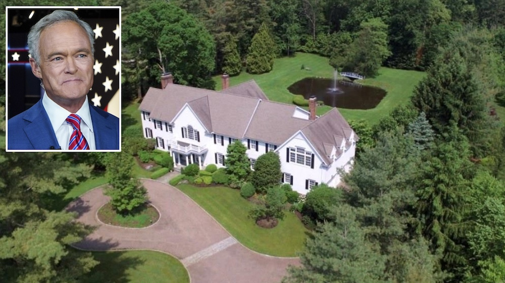 Scott Pelley Sells Connecticut Home