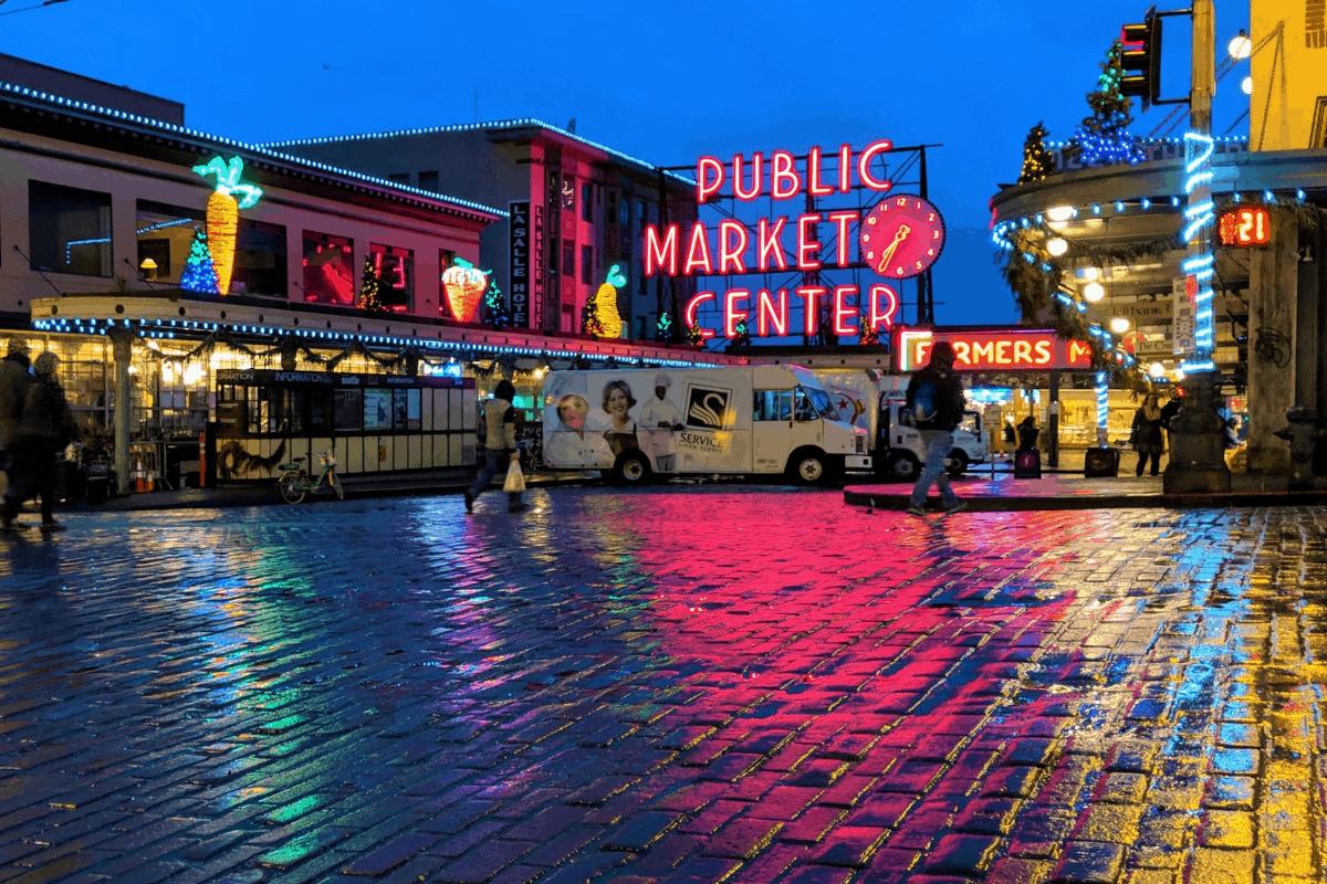 Seattle, WA market.