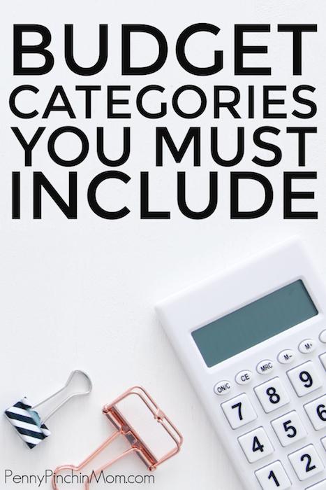 caclulator on desk to figure budget categories