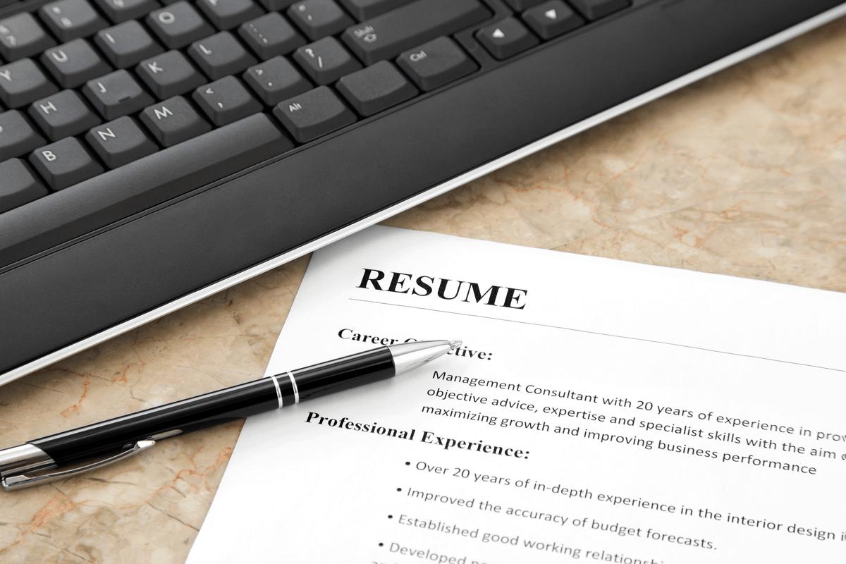 Resume for rental.
